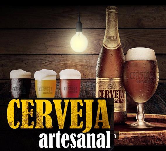 Como Fazer Cerveja Artesanal Em Casa - Guia Prático+vídeo Pa