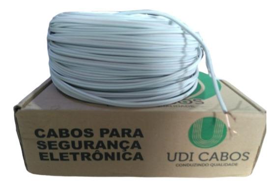 Cabo Coaxial Rff-4mm Bipolar 100 Metros 85% Externo Uso Cftv