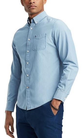 Camisa Tommy Hilfiger Chambray