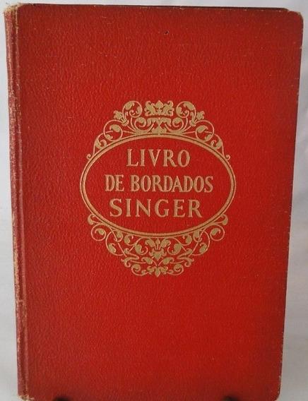 Livro De Bordados Singer