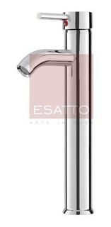 Esatto - Monomando Llave De Baño Bronce Cromo Gb-008