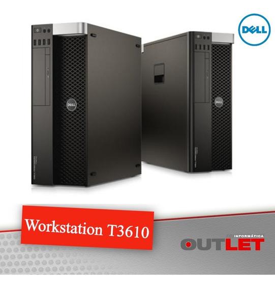 Workstation Dell Precision T3610 Xeon E5-1607v2 3 Ghz 16gb
