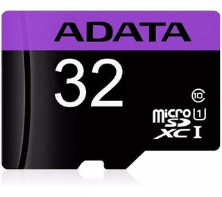 Adata Memoria Micro Sd Hc 32gb Uhs-i Clase 10 Celulares 50mb