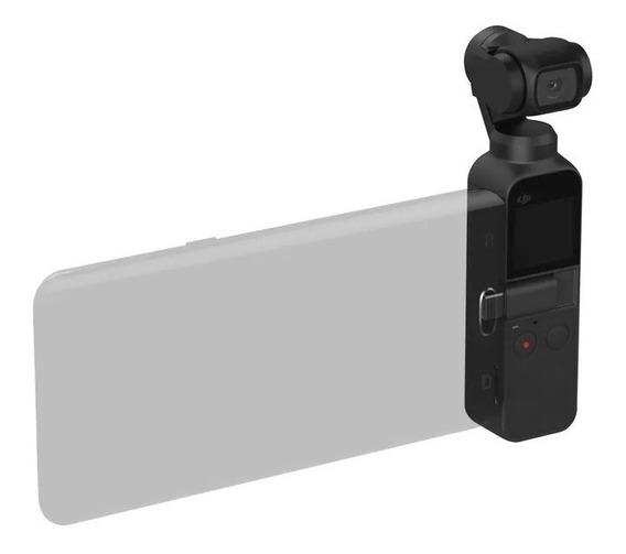 Gimbal Camera Digital Dji Osmo Pocket 4k Nf + Brinde