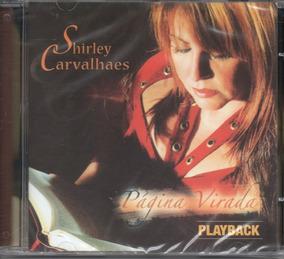Cd Shirley Carvalhaes - Página Virada - Playback