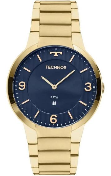 Relógio Technos Slim Masculino Gl15an/4a