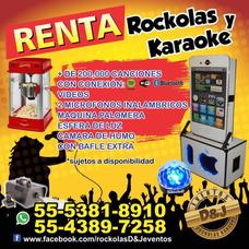 Renta De Rockolas Karaoke Estado De Mexico