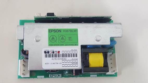 Fonte Da Lâmpada Ballast H367blm1 Epson S12