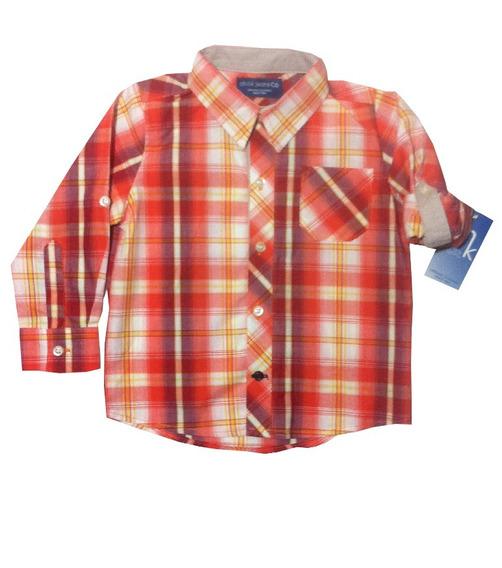 Camisa A Cuadros Niño