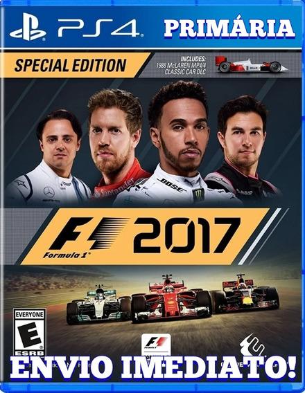 F1 2017 Ps4 1° Digital Psn Original Envio Imediato!