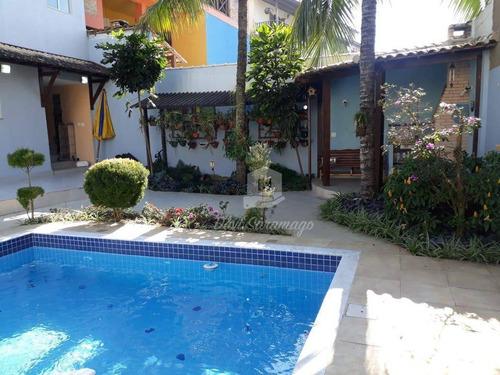 Casa À Venda, 368 M² Por R$ 1.670.000,00 - Camboinhas - Niterói/rj - Ca0173