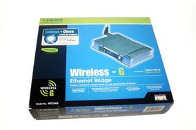 Cisco Linksys Wet54g Wireless-g Ethernet Bridge