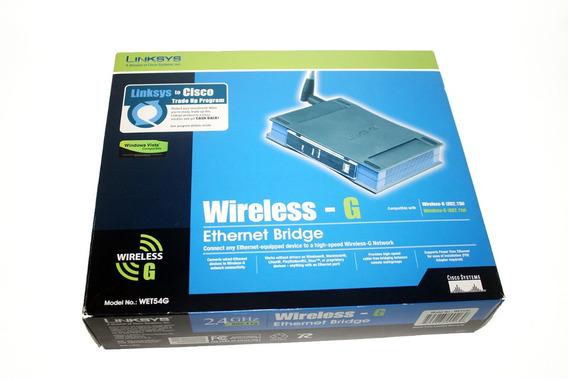 Wireless Bridge Linksys Wet11 - Informática [Melhor Preço
