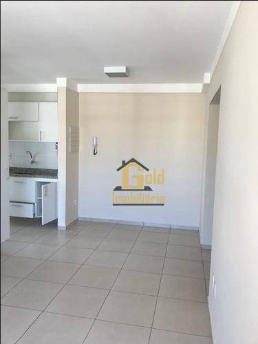 Apartamento Com 1 Dormitório À Venda, 45 M² Por R$ 218.000,00 - Nova Aliança - Ribeirão Preto/sp - Ap2438
