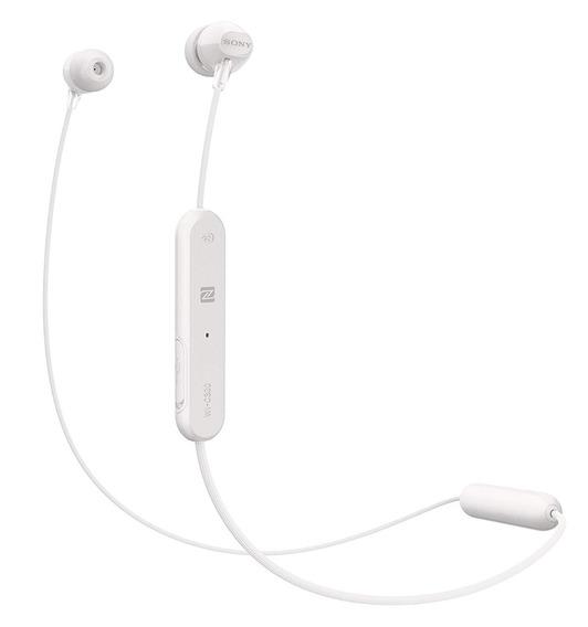 Headphone Sem Fio Branco Wi-c300 Bluetooth - Sony