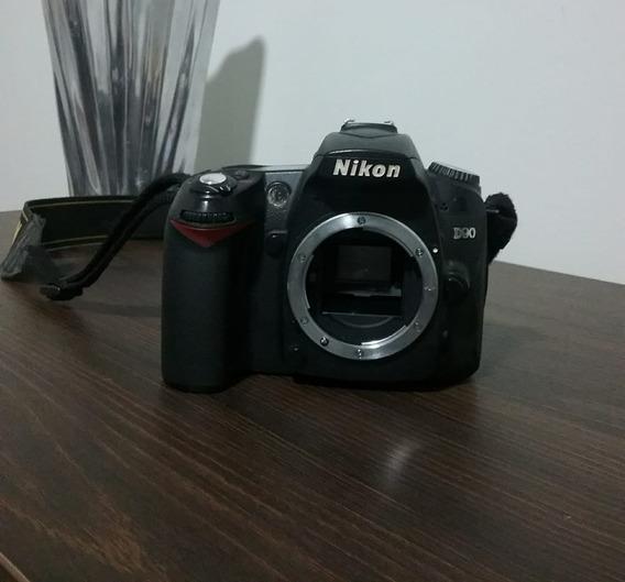 Câmera Nikon D90 Sem Lente, Valor R$ 800,00 .