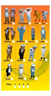 Disfraces Cosmi De Animales Para Niños Tallas 2-4 Promoción