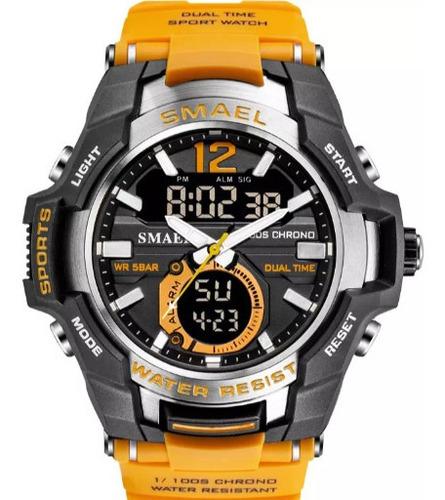 Relógio Esportivo Smael Original 5 Atm A Prova Dágua .