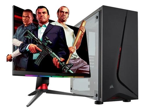 Imagen 1 de 8 de Pc Armada Gamer Intel I3 10100 8gb Nvidia Gtx 1050 Cuotas