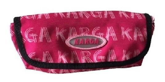 Kit Mochila E Porta Lápis Nike E Karga Heritage Rosa