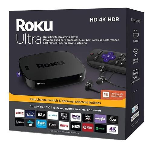 Roku 7 2019 Ultra 4670 4k Hd Hdr Streaming Media Player Tv
