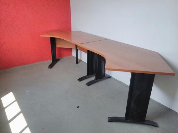 Mesa De Escritório (2 Mesas Ou Uma Baia Para 2)