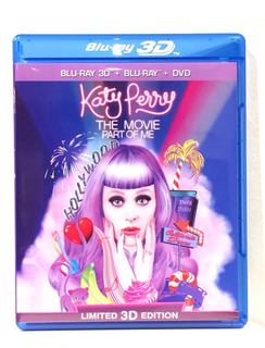 Katy Perry The Movie Part Of Me Bluray 3d Bluray Y Dvd Nuevo