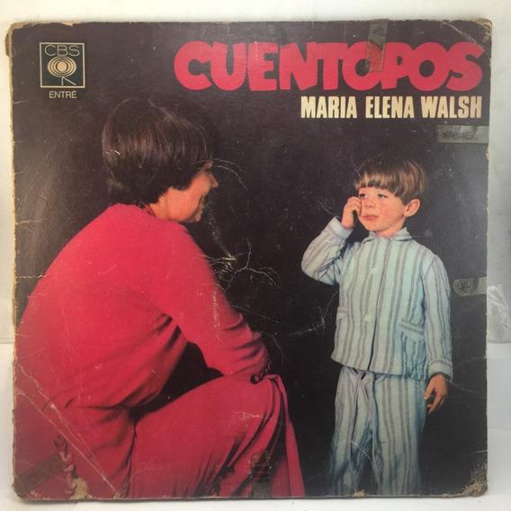 Maria Elena Walsh - Cuentopos - Infantil Vinilo Lp