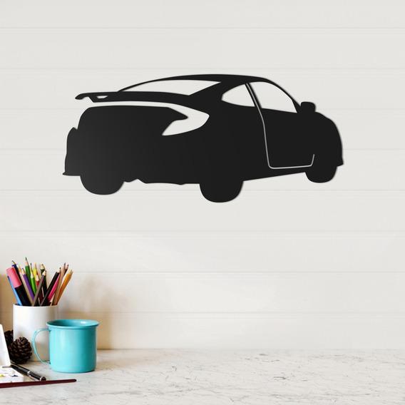 Quadro Decorativo Parede Veículos Honda Civic 01 30cm