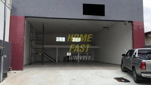 Imagem 1 de 3 de Galpão Para Alugar, 250 M² Por R$ 7.900/mês - Vila Galvão - Guarulhos/sp - Ga0374