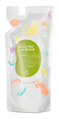 Repuesto Shampoo Mamá Y Bebé Natura - 200ml