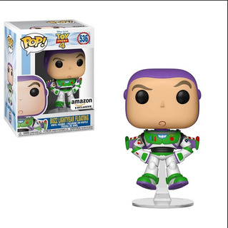 Funko Pop Toy Story 4 Buzz Lightyear #536 Amazon Ex - Nuevo
