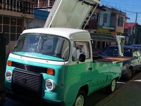 Vw Combi Food Truck Negocio Movil Oportunidad Restaurante