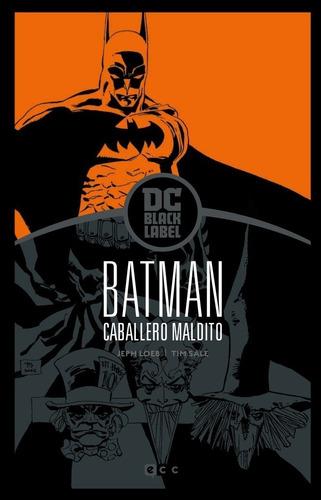 Cómic, Batman: Caballero Maldito  Edición Dc Black Label