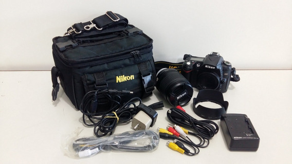 Camêra Nikon D90 Lente 18-105mm 3.5-5.6 Vr
