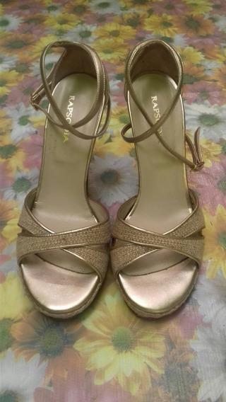 Zapatos Zapatillas De Fiesta Tacón Alto Mujer Rapsodia