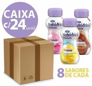 Nutridrink Protein - 24 Unidades - 8 De Cada Sabor