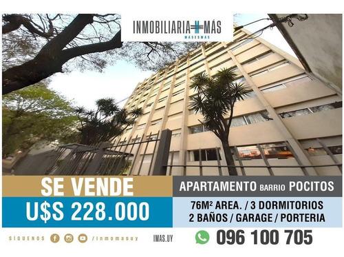 Imagen 1 de 22 de Apartamento Venta Pocitos Montevideo Imas.uy S *