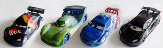 Figuras Cars 2 Original Disney 2011 - Precio C/u - C3