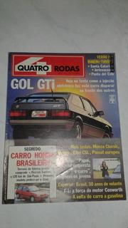 Revista 4 Rodas De Janeiro De 89