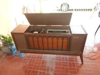 Consola Vintage General Electric 1200 Tocadisco Y Radio