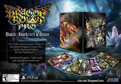 Imagen 1 de 10 de Dragons Crown Pro: Battle Hardened Edition - Playstation 4