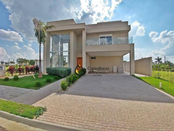 Casa Com 3 Dormitórios À Venda, 420 M² Por R$ 1.900.000,00 - Residencial Villa Bella Florença - Paulínia/sp - Ca0583