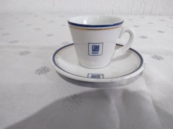 Xícara De Café Antiga - Montadora Gm - Porcelana Teixeira
