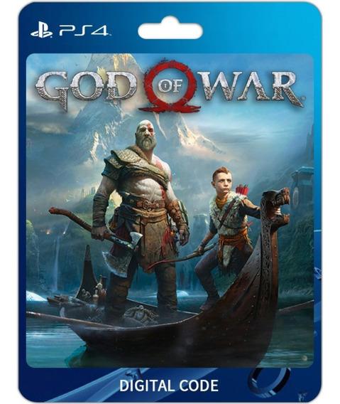 God Of War Ps4 - Código 12 Dígitos