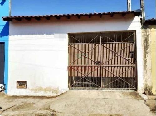 Casa Com 2 Dormitórios À Venda, 78 M² Por R$ 165.000,00 - Parque Santa Edwiges - Bauru/sp - Ca3293