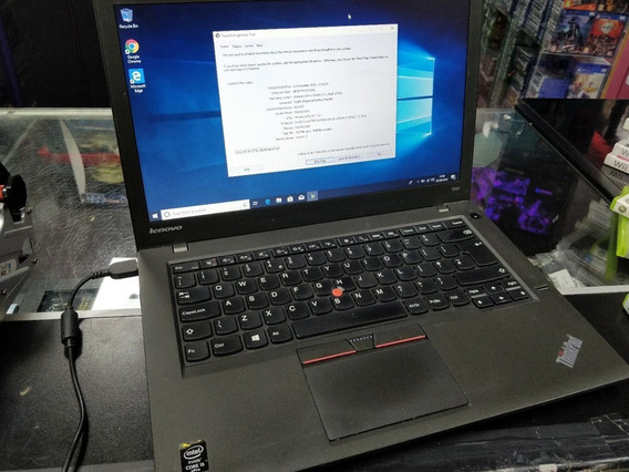 Notebook Lenovo I5 T450 8gb Memoria + Hd 320 7200 Rpm