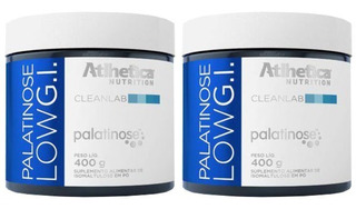 Palatinose Low G.i. - 2x 400 Gramas - Atlhetica
