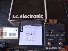 Pedal Pre Amp Boost Tc Eletronic Vpd 1 Nao Klon Dumble Bbe