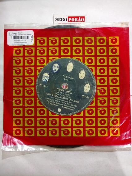 Compacto Plastic Ono Band - Happy Xmas